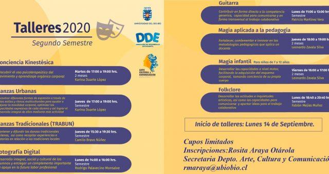 TALLERES DEPARTAMENTO ARTE, CULTURA Y COMUNICACIÓN